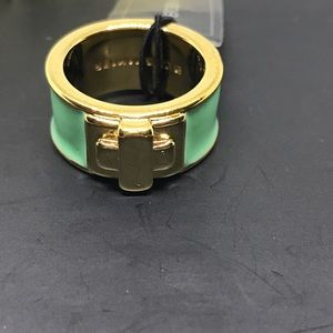 BCBGMaxAzria Jewelry - BCBG Mint Green & Gold Ring [JW-37]